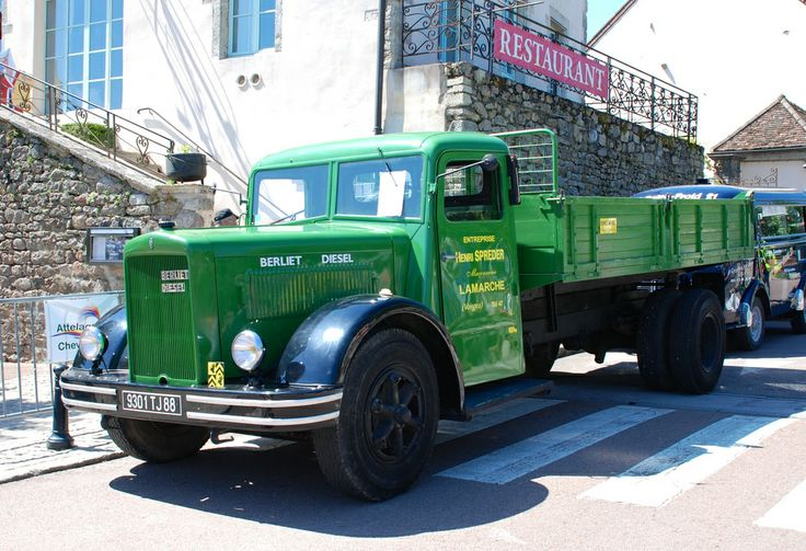 Berliet GDR camion (late 1940s)