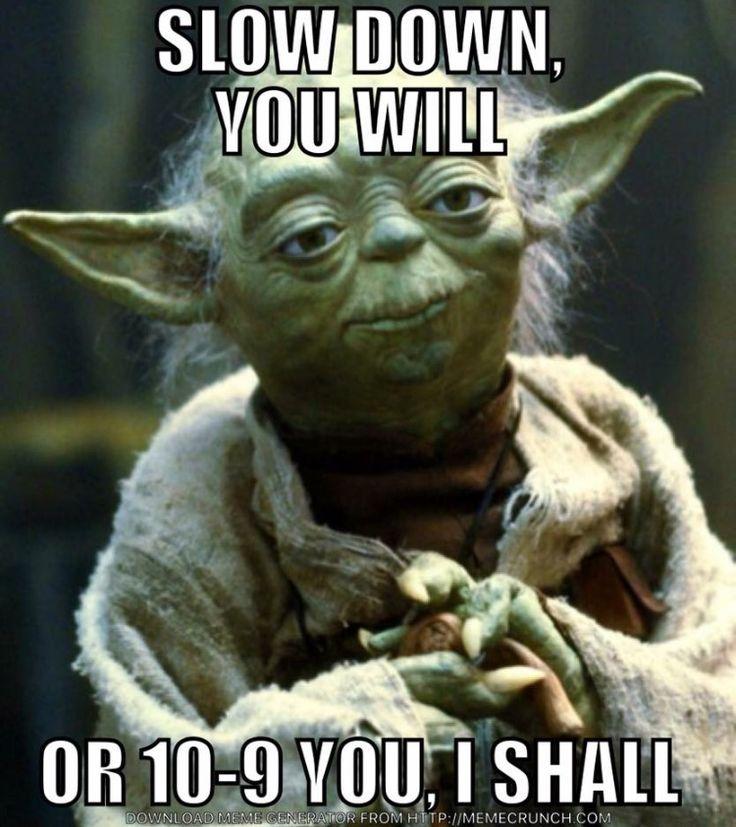Oh Yoda!