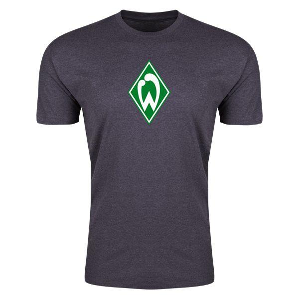 Werder Bremen Mens Fashion T-Shirt (Dark Gray)