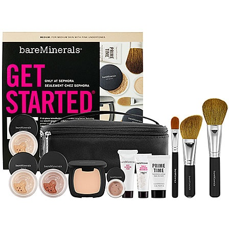 Bare Escentuals bareMinerals® Get Started® Kit: Shop Complexion Sets | SephoraLights, Bareminerals, Beautiful, Nature Makeup, Start Kits, Kits Sephora, Christmas Gift, Medium