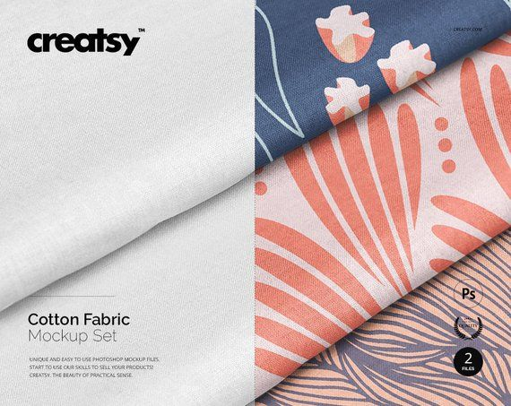 Cotton Fabric Mockup Set Cotton Mockup Cotton Stack Free Web Design How To Make Logo Free Psd Mockups Templates