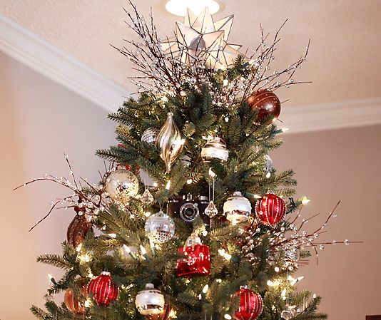 16 Best Gold Christmas Tree Decor Images On Pinterest