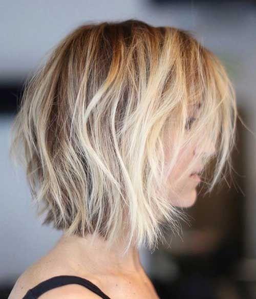 Kurze bis mittlere Haarschnitte für Damen