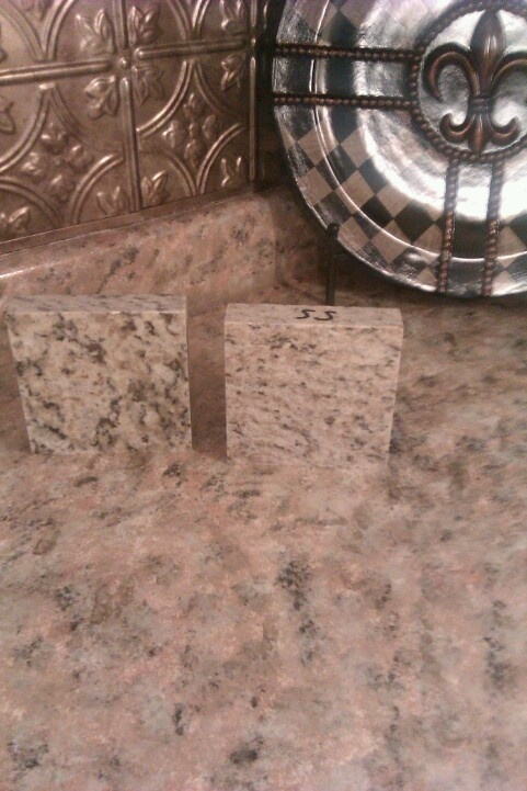 These Laminate Kitchen Counters Were Faux Painted To Look Like Granite Kitchens Design Connection Inc