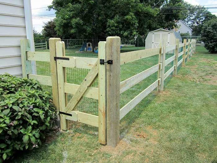 Best Split Rail Fence Gate Design Http Lovelybuilding