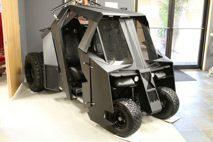 Batman Tumbler golf cart for sale: Bring justice to the links