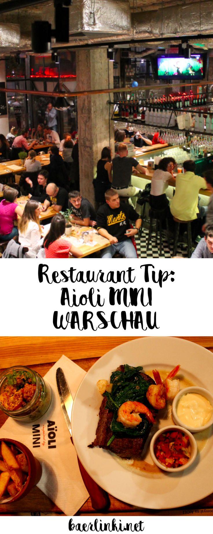 Ihr seid hungrig und fragt euch wo man in Warschau 'nen juten Happen essen kann? Dann habe ich einen tollen Restaurant-Tipp für euch!