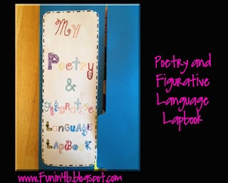 poetry lapbook: Homeschool Ela, Lapbook Ideas, Lap Books, Language Lapbook, Language Art, Figures Language, Language Freebies, Figurative Language, Homeschool Lapbook