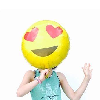 Ver detalles de Globo emoji enamorado