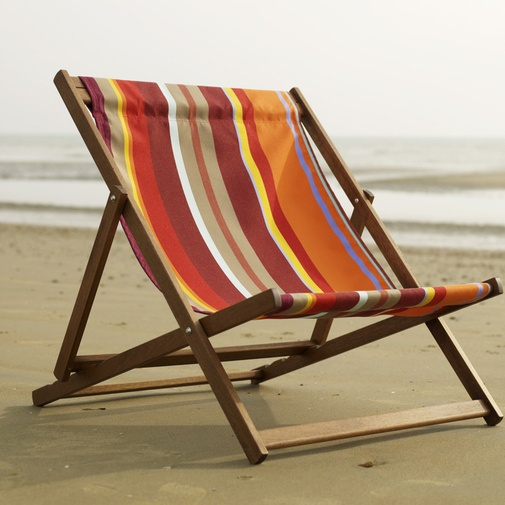With a double deck chair, life is good.