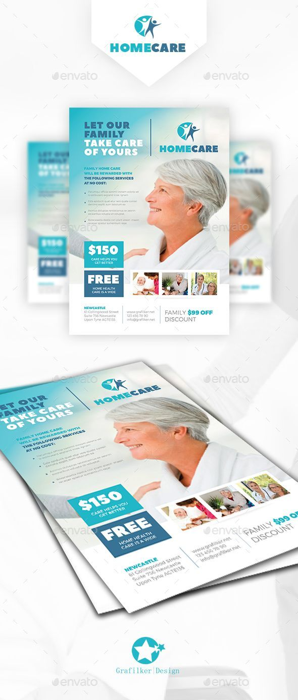 Home Health Care Flyer Template Psd Indesign Indd Download Here Graphicriver Home Health Care Flyer Template Psd Indesign Indd Download Here Di 2020 Brosur