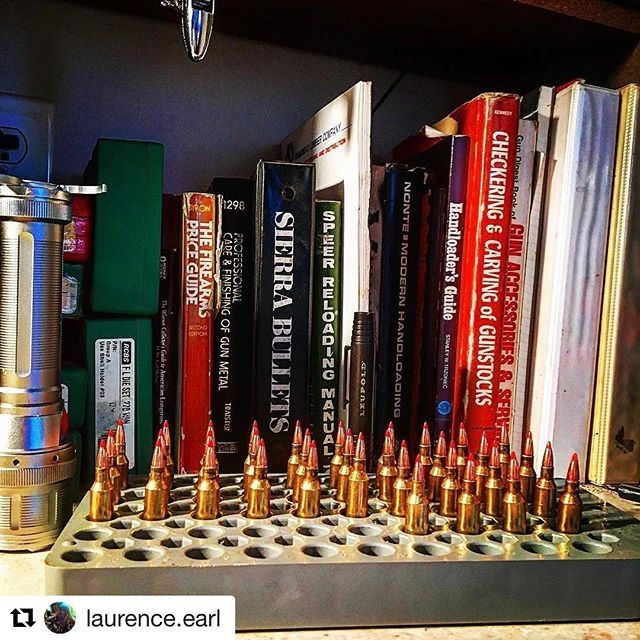 #Repost @laurence.earl with @repostapp  ・・・  Using up some old powder. #rcbs #reloading #22250 #hornady #vmax #guns #gun #bullets #ruger #pnw #oregon #brass #shooting #bench