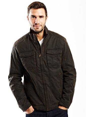 Bhs Mock Leather Harrington Jacket  £50.00