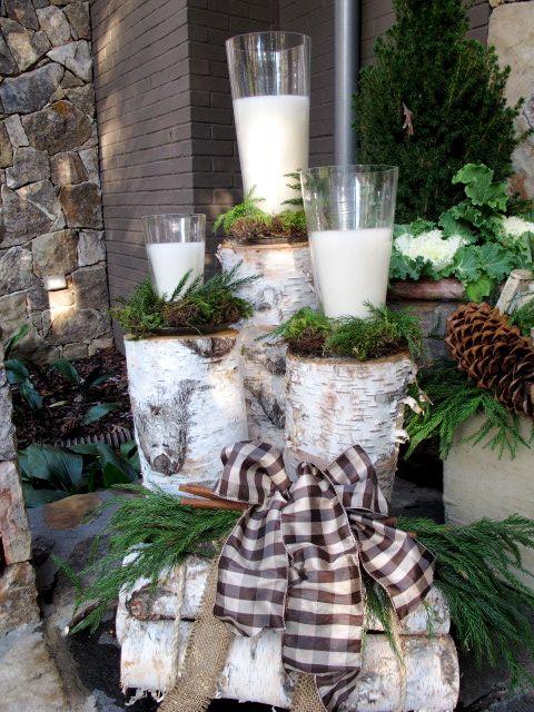 Outside Christmas Decorating Ideas
