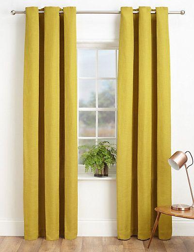Bantry Weave Eyelet Curtains