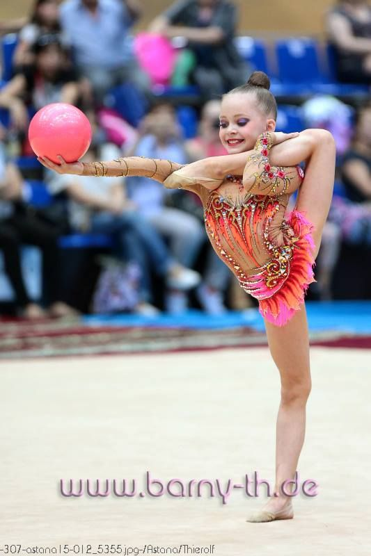 Uliana Travkina (Russia), junior