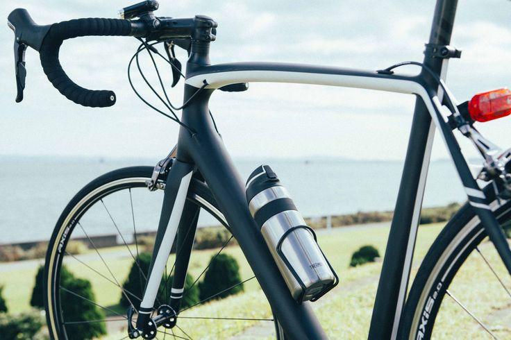 自転車乗り必見本気のストローボトルがサーモスから発売