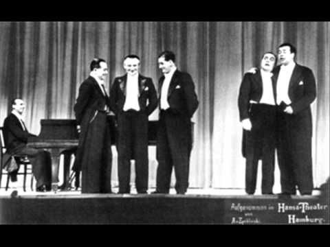 Das Meistersextett früher Comedian Harmonists - In Mexiko