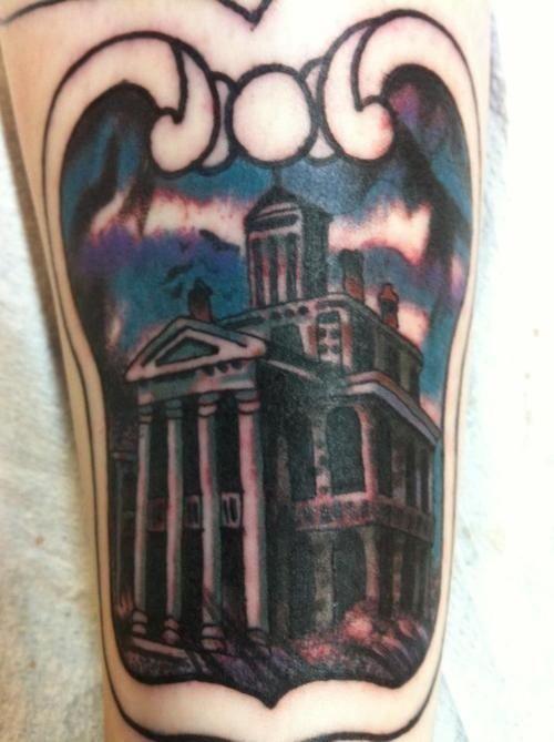 haunted mansion tattoo | haunted mansion tattoo! | Disney Haunted Mansion