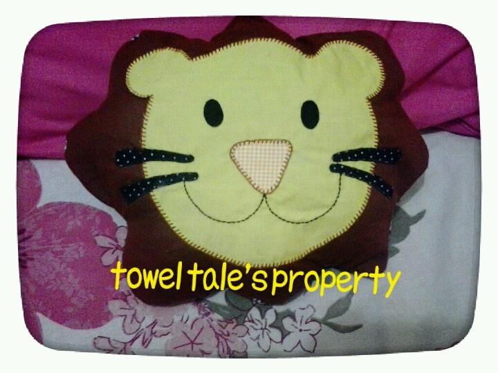 Lion-shape pillow.. roarrr!
