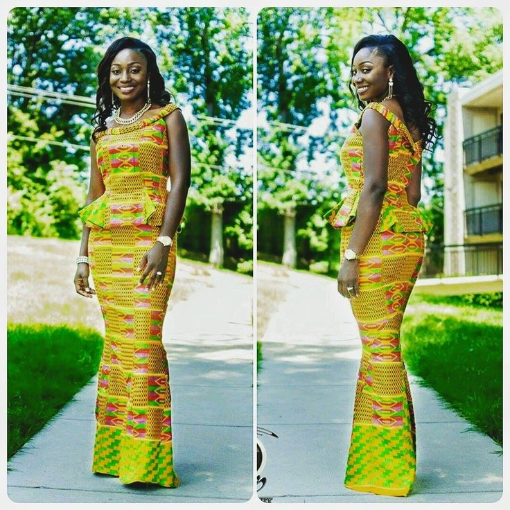36 Best Images About Kente Dress On Pinterest Fashion