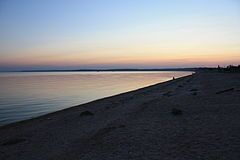 Azow Sea Sunset, Russian coast