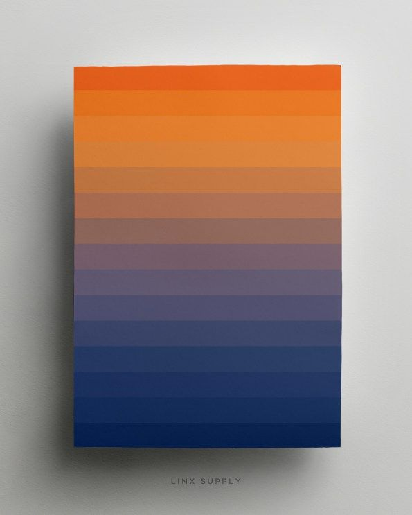 Dawn gradient poster - linxsupply.com.