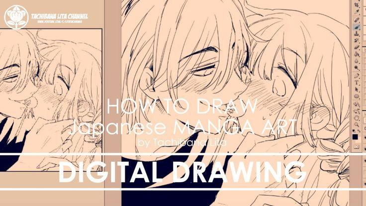 ✔ Digital Drawing   How to draw Manga Art 2018.01.15