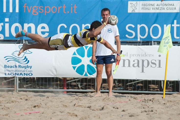 TRY ! www.beachrugby.eu - https://www.facebook.com/BeachRugby.Lignano