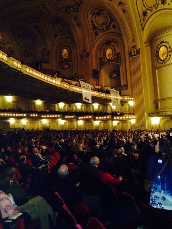 "Protesters Stage ""Requiem For Michael Brown"" Demonstration During St. Louis Symphony Performance"