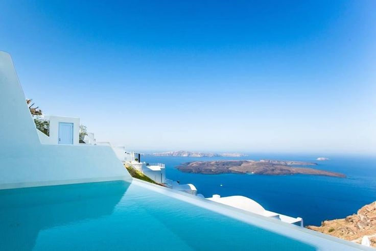 Pool suite view by guest Happy15_12 at TripAdvisor   #AstraSuites‬ #Santorini‬