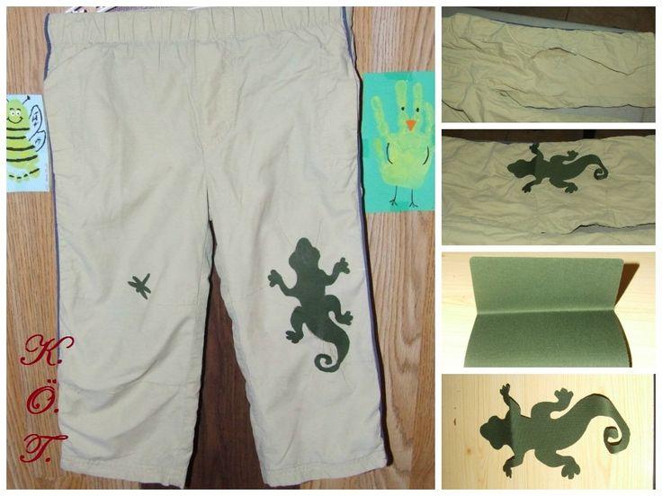 Nadrág foltozás / pants patch