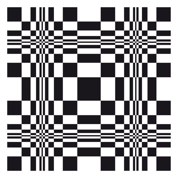 fibonacci swolen squares