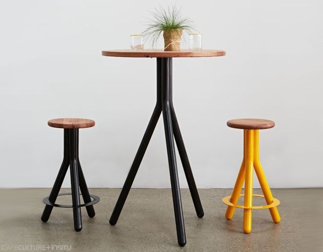 PIPE TABLE - Cafe Culture + Insitu