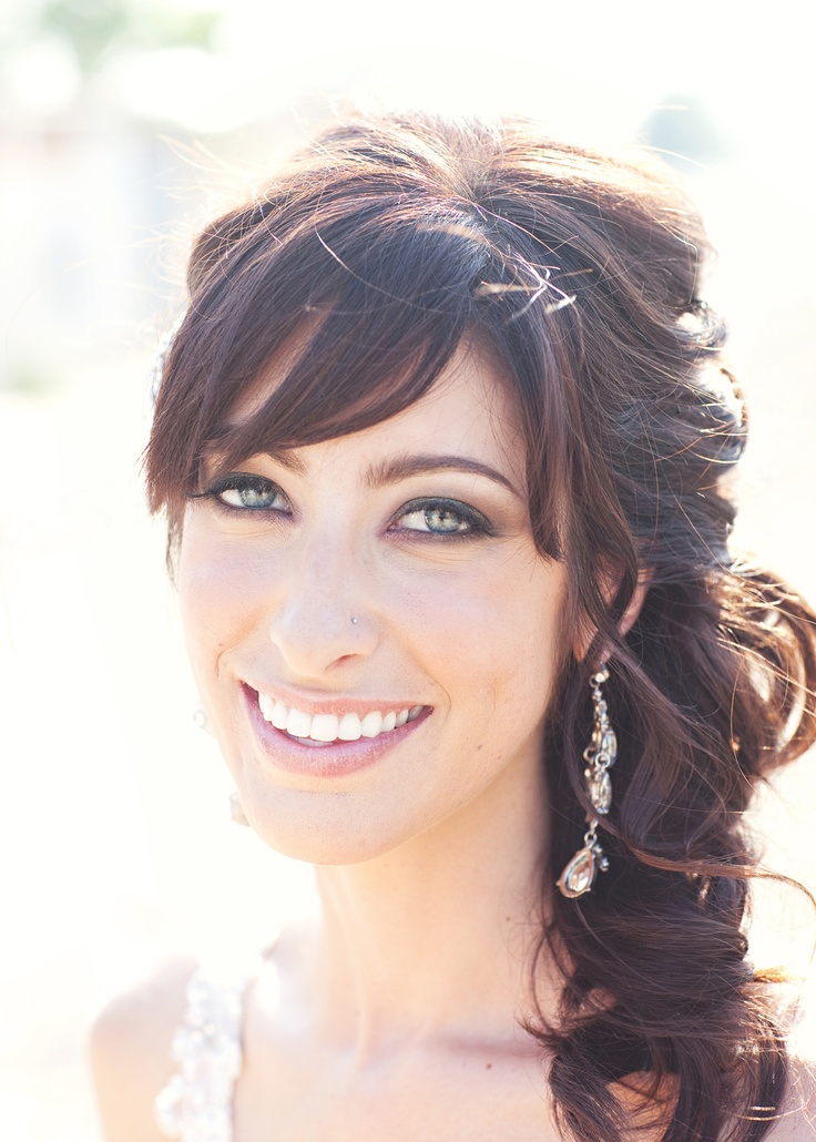 9 Best Images About Bridesmaid Hair On Pinterest