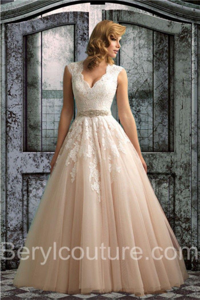 553 best Lace Wedding dresses images on Pinterest | Short wedding ...