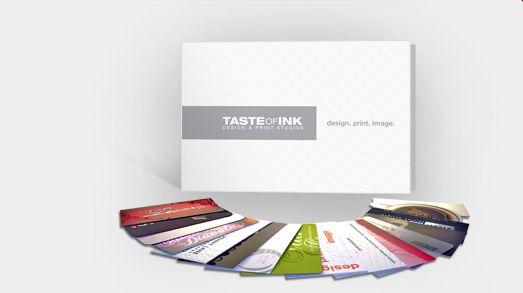 Business Card Samples | Taste of Ink Sample Business Cards | Taste of Ink Studios