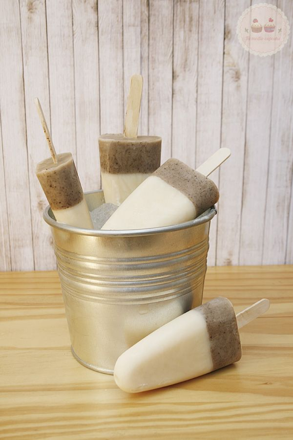Tu medio cupcake: Helado de caramelo y café #coffee #caramel #popsicles #recipe #receta #helado #caramelo #cafe #summer