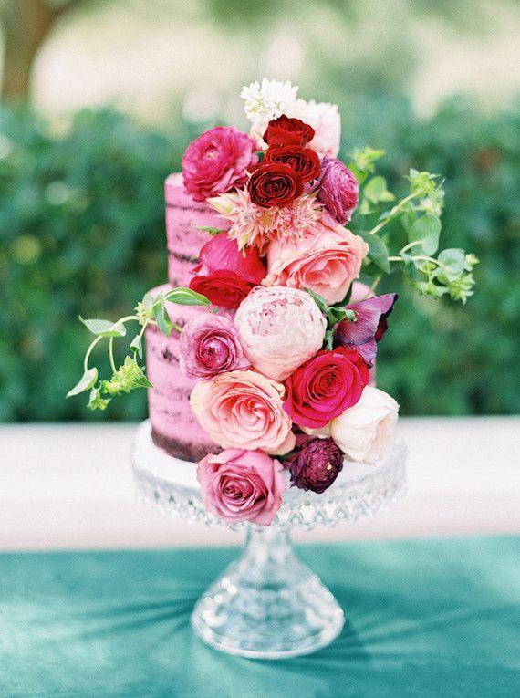 43 best Naked Wedding Cakes images on Pinterest | Cake wedding ...