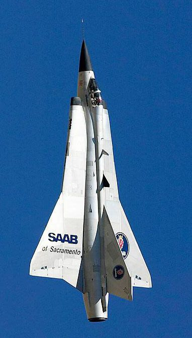 SAAB Drakken — Personal Favorite Mil Jet!!