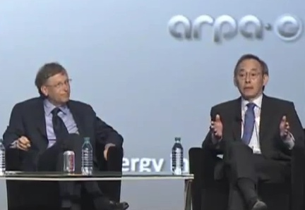 Bill Gates & Steven Chu talkin' energy.
