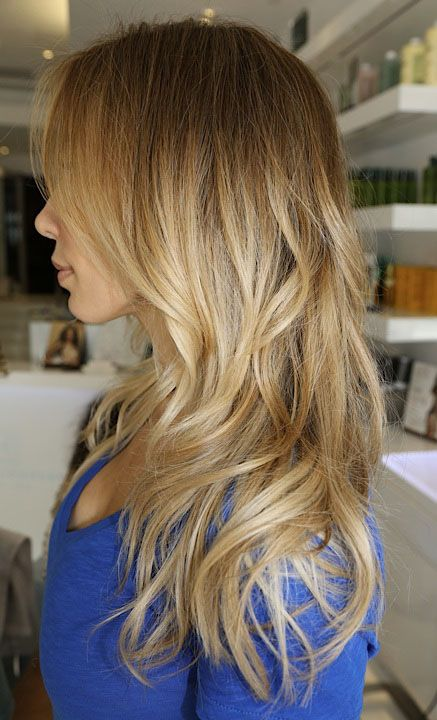 Dark Blonde, Hair Colors, Blonde Hair, Ombre Hair, Summer Hair, Blonde Highlights, Blondes Highlights, Hair Style, Soft Waves