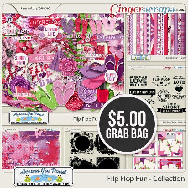 $5 Grab Bag - Flip Flop Fun