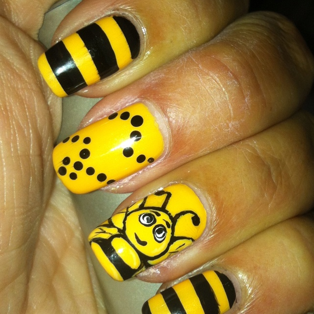 Honey Yellow Nail Polish: 137 Best Nails Images On Pinterest