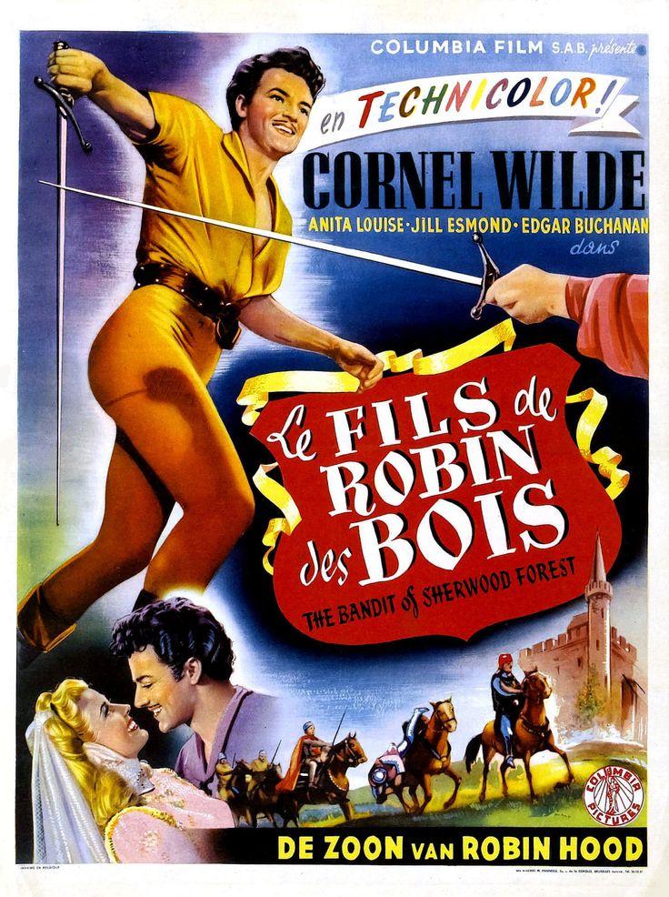 Le Fils de Robin des Bois  film 1946 ~ Parodie Robin Des Bois