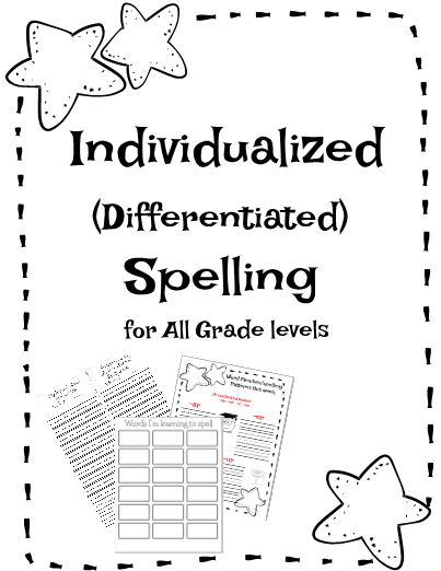 The purpose of Individualized spelling vs. memorization of