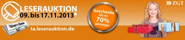 Leserauktion von Thüringer Allgemeine