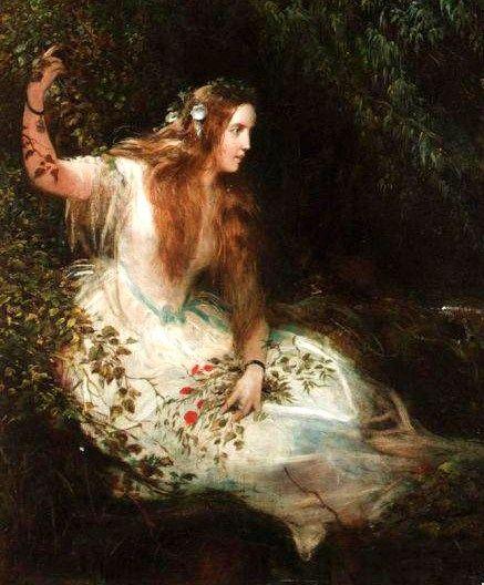 Famous Romanticism Paintings Ophelia