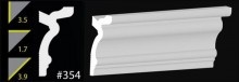 """CC 354 - DYI Foam Crown Molding 3.5"""" - So easy, so easy.."""