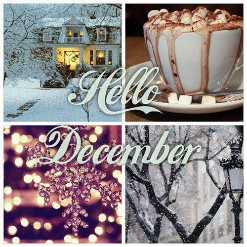 Hey December,  I really missed you.  Love, #fall is over